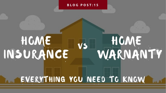 home warranty vs. home insurance
