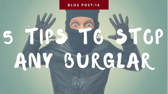5 Tips to deter a burglar during the holiday season