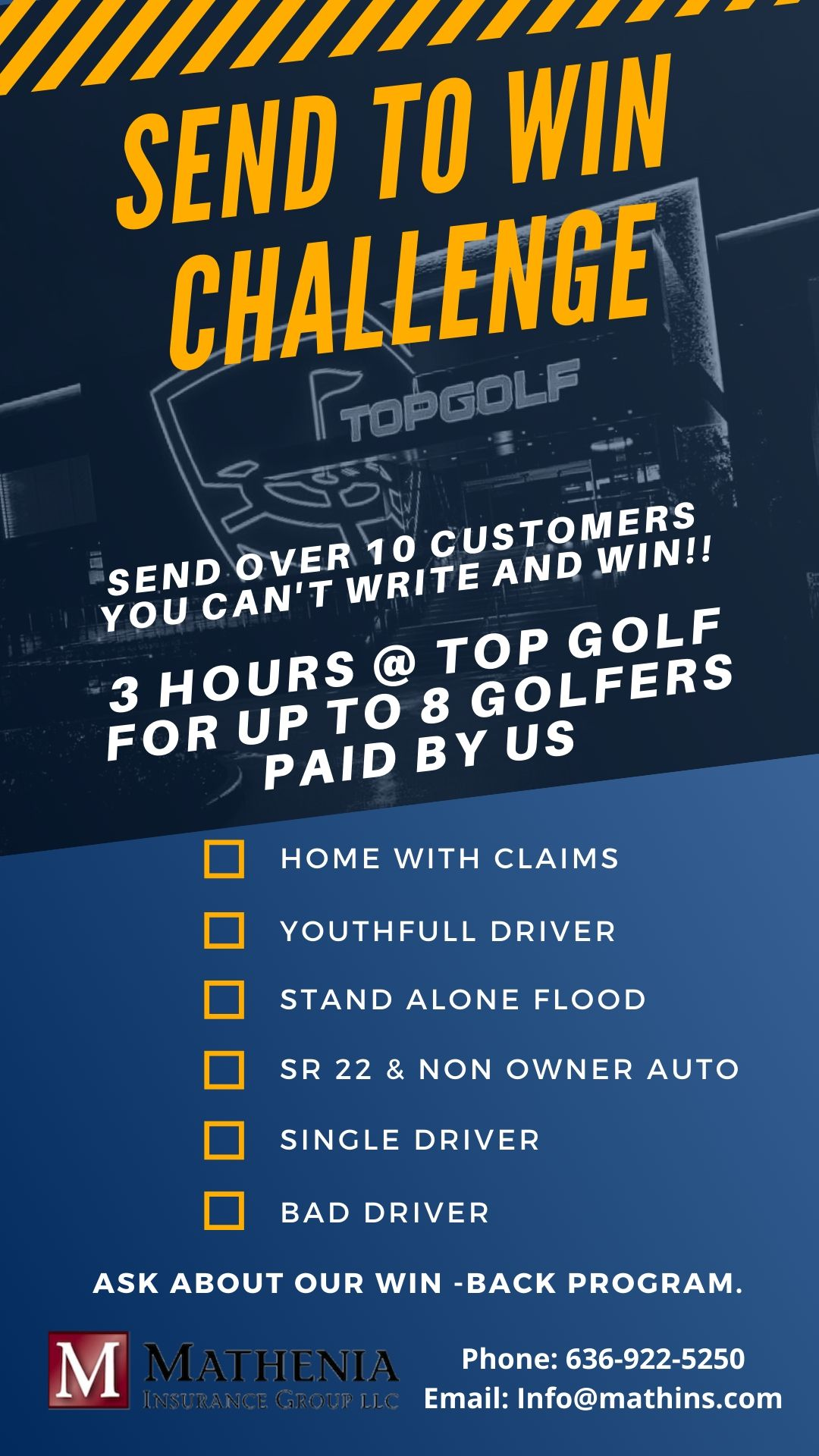 small flyer top golf